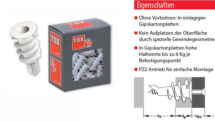 1 Stk Montagezange aus Metall f Hohlraumdübel   NEU