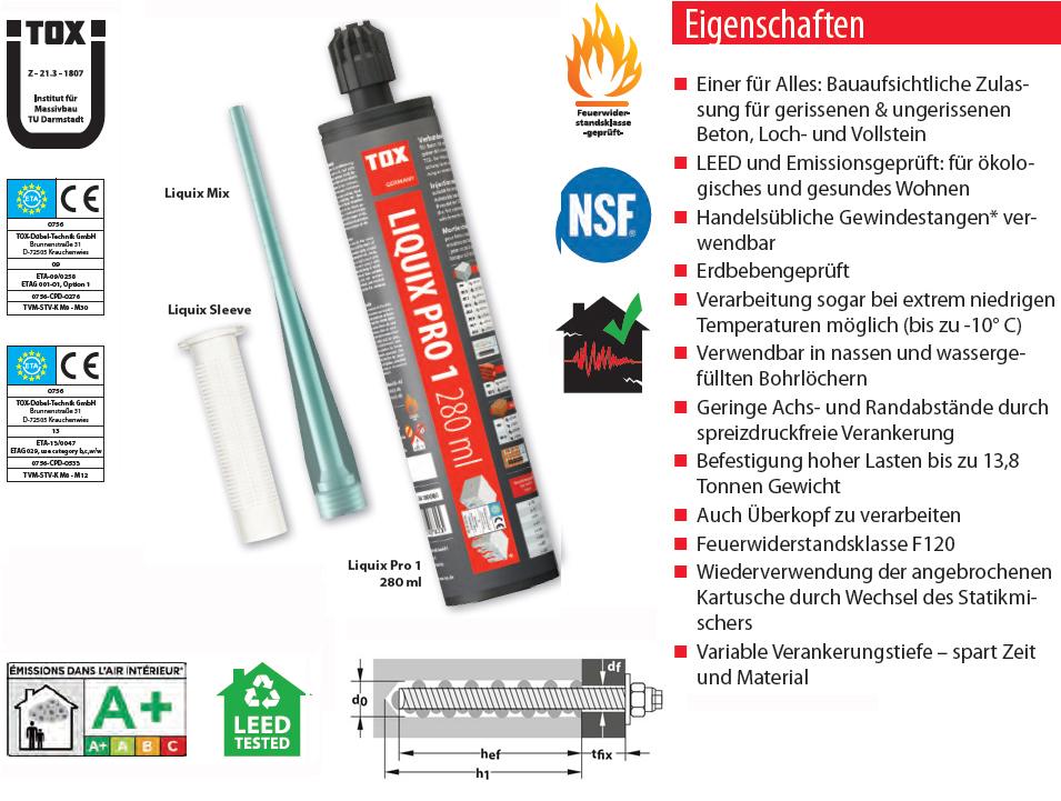 Verbundm Rtel Tox Liquix Pro 1 280ml D Bel Shop