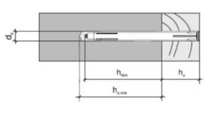 50 Stk. Metall-Rahmendübel 10 x 152mm
