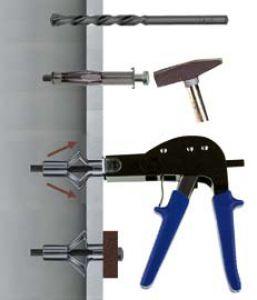 1 Stk. Montagezange für Metall-Hohlraumdübel