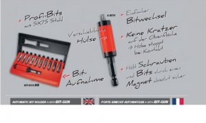 1 Stk. TOX Automatik-Bithalter A-Bith