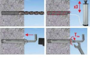2 Stk. Stahlankerbolzen, Betondübel mit Winkelhaken 10 x 90mm