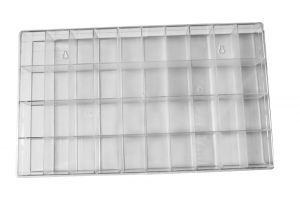 Sortimentskasten groß mit 40 Fächern