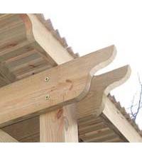 50 Stk. Holzbauschrauben 8.0 x 100mm