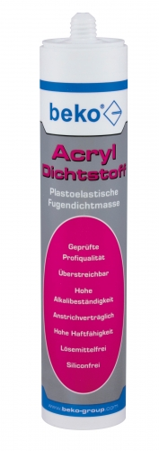 1 Kartusche Acryl-Dichtstoff 310ml