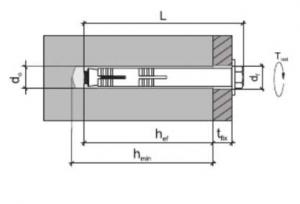 2 Stk. Stahlankerbolzen, Betondübel 14 x 120mm