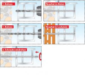 rahmenschrauben fensterrahmenschrauben d bel shop. Black Bedroom Furniture Sets. Home Design Ideas