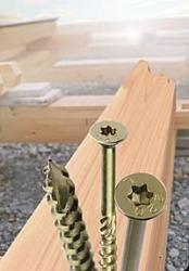 50 Stk. Holzbauschrauben 8.0 x 160mm