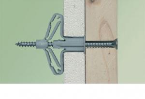 10 Stk. Hohlraum-Spreizdübel 12,5mm mit Schraube