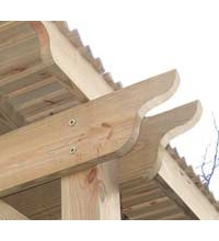 10 Stk. Holzbauschrauben mit Tellerkopf 8.0 x 160 mm