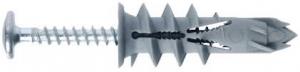 50 Stk. Gipskartondübel DRIVA CLICK mit Flachkopfschrauben