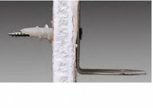 100 Stk. Gipskartondübel Rapid Nylon mit Schraube 4.5 x 45mm