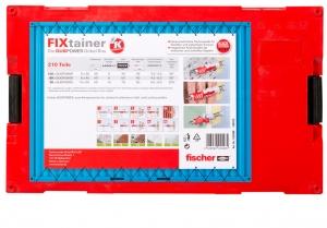 1 Stk. Fischer BOX Fixtainer Duopower + Duotec 200-teilig