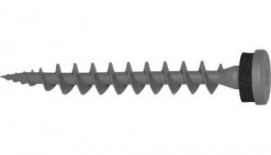 10 Stk. Isolierplattenschrauben IPS 80 anthrazitgrau