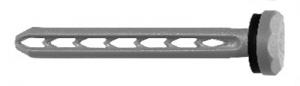 25 Stk. Universal Spreiznagel USN 60mm anthrazitgrau