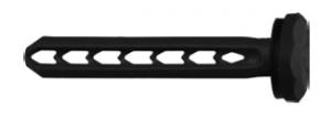 25 Stk. Universal Spreiznagel USN 40mm schwarz
