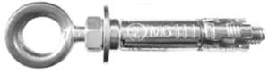 10 Stk. Pirat Sven-O M12 x 80mm