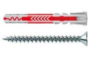 50 Stk. Fischer Duopower 6 x 50 mm m. Senkkopfschrauben