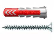 50 Stk. Fischer Duopower 8 x 40 mm m. Senkkopfschrauben