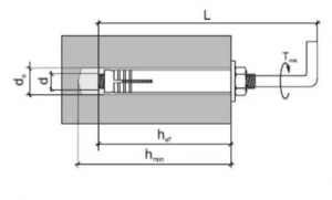 20 Stk. Stahlankerbolzen, Betondübel mit Winkelhaken 10 x 90mm