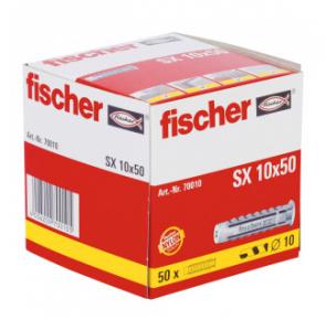 50 Stk. Fischer Spreizdübel SX 10 x 50