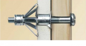50 Stk. Hohlraumdübel aus Metall M6 x 52mm