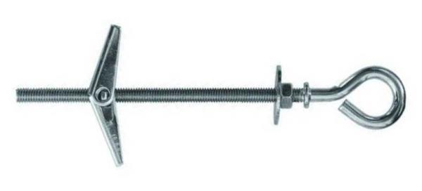 M-O Federklappdübel mit Gewindestange Metalldübel Klappdübel mit Deckenhaken