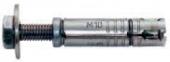 10 Stk. Innengewinde-Spreizanker mit Schraube M8 x 50mm