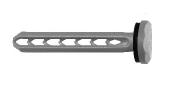 100 Stk. Universal Spreiznagel USN 40mm anthrazitgrau
