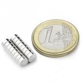 20 Stk. Scheibenmagnete Ø 5 mm, Höhe 2 mm