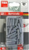 36 Stk. Spreizdübel Barracuda 5 x 25mm