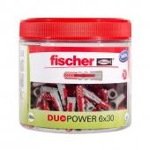 200 Stk. Fischer Duopower 6 x 30 mm in der Runddose