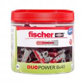 80 Stk. Fischer Duopower 8 x 40 mm in der Runddose