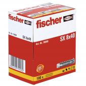 100 Stk. Fischer Spreizdübel SX 8 x 40
