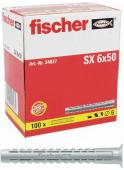 100 Stk. Fischer Spreizdübel Langversion SX 6 x 50