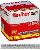 50 Stk. Fischer Spreizdübel Langversion SX 8 x 65