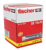 20 Stk. Fischer Spreizdübel SX 14 x 70