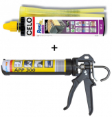 12 Stk. Injektionsmörtel Celo ResiFIX Eco 300 ml + Auspresspistole APP 300